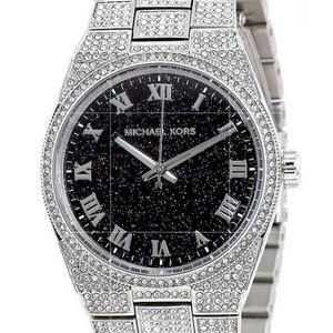 NIB Michael Kors Channing Crystal Pave Watch
